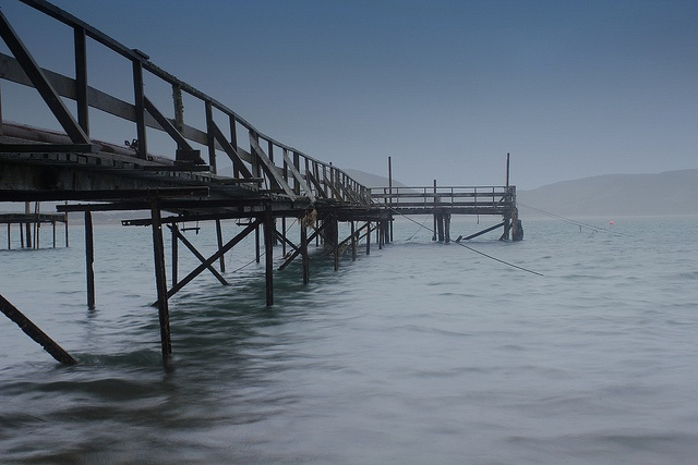 Waikawa Wharf Catlins by rustyalishere, via Flickr