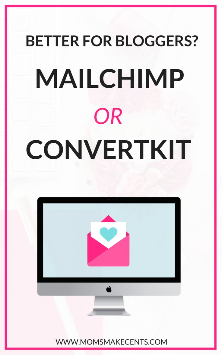 Which really is better for bloggers MailChimp or ConvertKit? I've used both and I think there is a time and place for each. See why here! | email marketing | email service providers | email list building | mailerlite | active campaign |