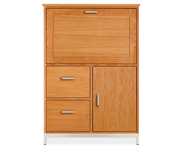 Room And Board Linear Office Armoire