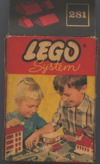 The first Legos...