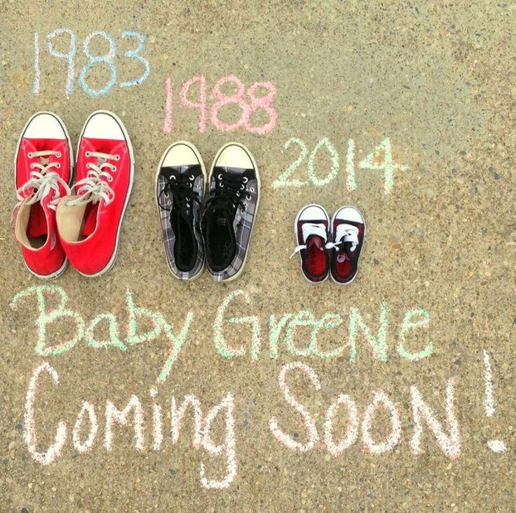 The cutest baby announcement ever!!