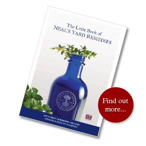 Click to read about NYR Organic's Core Values. Pictured: The little book of NYR Organic