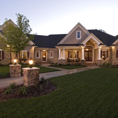 1000+ Images About Home Exterior Ideas On Pinterest | Ranch House