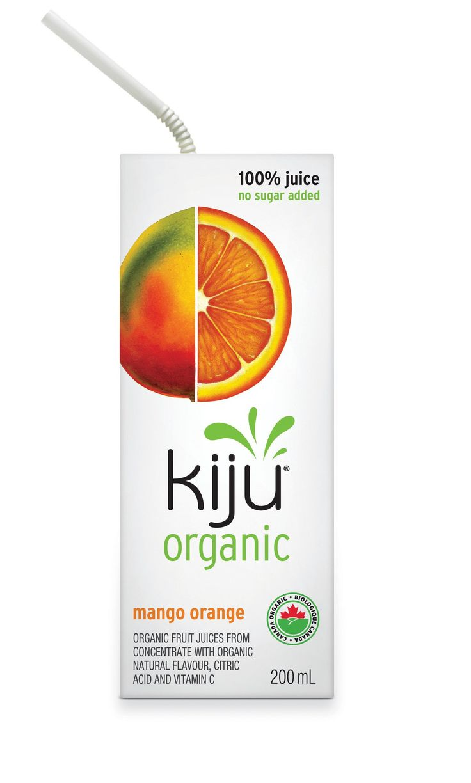 Kiju Organic Mango Orange Juice Box  #UpgradeYourLunchBox