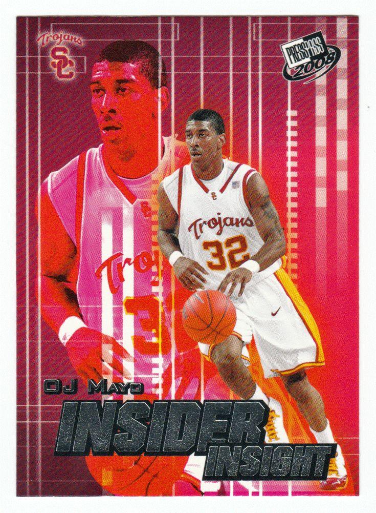 O.J. Mayo # II-7 - 2008 Press Pass Basketball Insider Insight