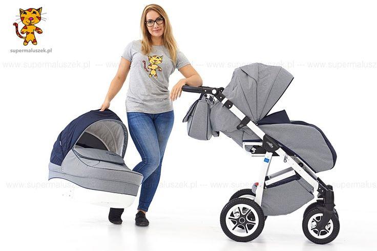 Wózek dziecięcy 3w1 Rider jest niezwykle elegancki. Atutem wózka jest lekka aluminiowa rama w kolorze białym.  http://supermaluszek.pl/Wozek_dzieciecy_Rider_3w1_ecoskora_  #supermaluszek #rider #wózekdziecięcy #dziecko #baby