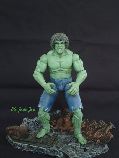 Lou Ferrigno, the Incredible Hulk (Incredible Hulk) Custom ...