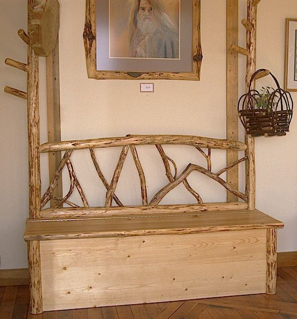 Log Furniture | Misty Mountain Furniture   Rustic Log Furniture Mountain  Hewn Entry .