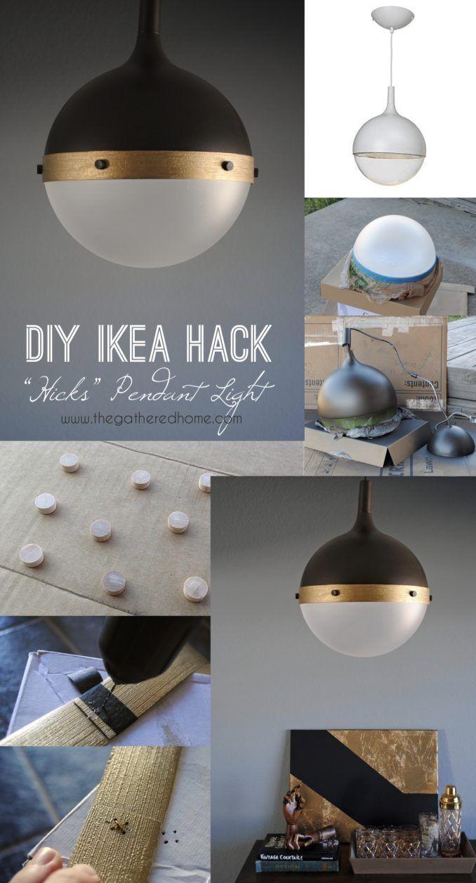 ikea hack lampe diy : les meilleurs idées des créatifs | diy deco et