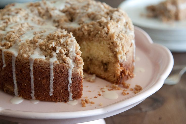 Saigon Cinnamon Streusel Coffee Cake - I made this today, with powdered sugar instead of icing. It was INSANELY delicious!