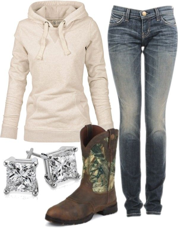 """Country Fun :)"" by small-town-country-gurl on Polyvore  Cute outfit thIs is my typical outfit lol"
