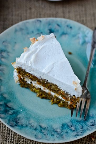 BLISS - blissful eats with tina jeffers: Vegan Carrot Cake with coconut whippedcream