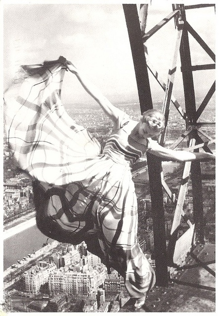 lady on the eiffel tower 1938 erwin blumenfeld
