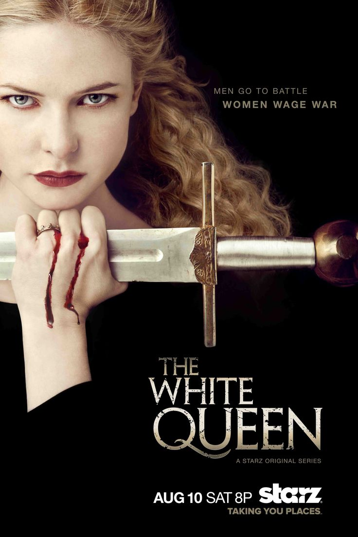 The White Queen TV Series | The White Queen From Starz Gets Key Art