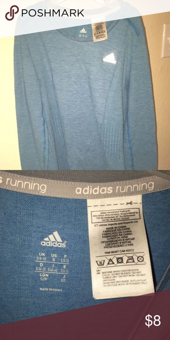 Adidas Longsleeve Running T-shirt - Size S This is a girls Adidas Longsleeve Running t-shirt. Size S. Used but in like new condition. adidas Tops