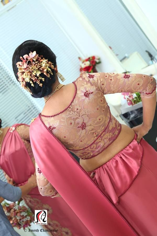 Sri Lankan Bridesmaid Saree B S Pinterest Saree
