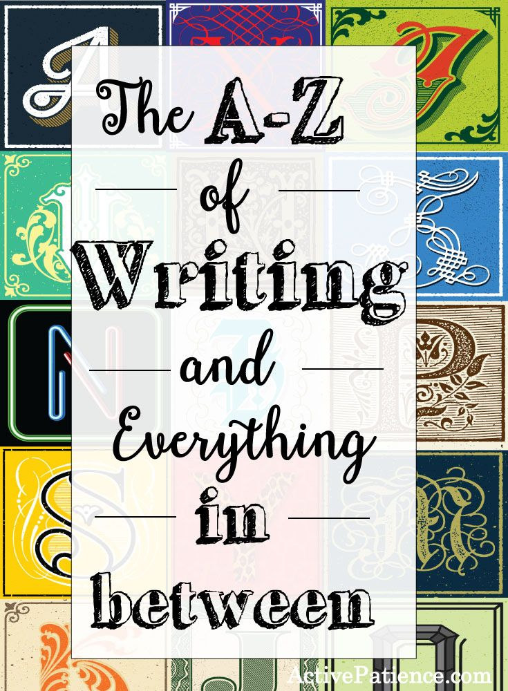 The-A-to-Z-of-Writing-and-Everything-in-between