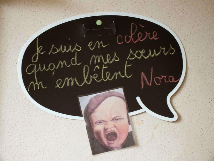 Ecole Maternelle Vitteaux: les émotions
