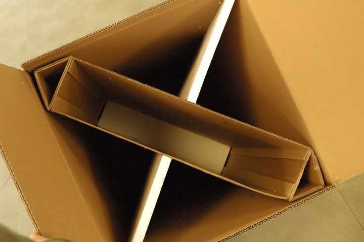 Quantun Box: This shows the structure and supports. On the base there is a T-section solid foam layer (120mm), which helps with preventing vertical inertia from damaging the mirror frame. The foam on the sides, is strong enough to withstand pressure but is designed to give way and collapse if it is extreme, therefore not crushing the cardboard or frames.