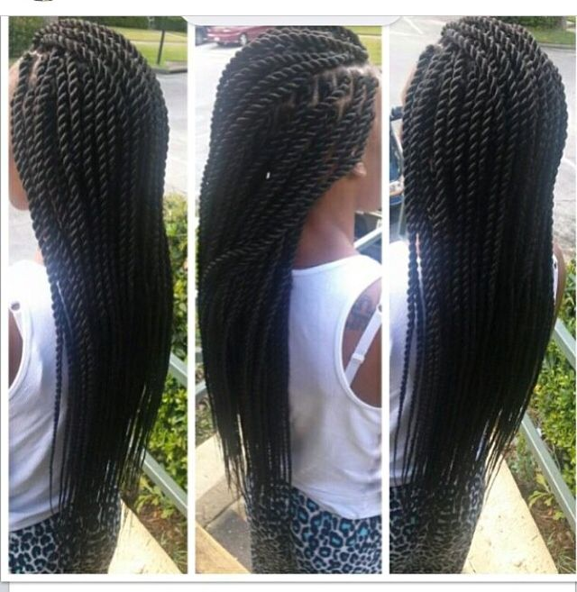 rope twists hairstyles : ... images about Braids Twist Sengelese Rope twist, Twists and Ropes