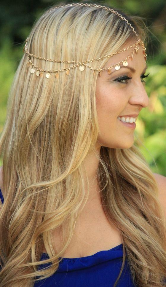 HEAD CHAIN headpiece, headdress