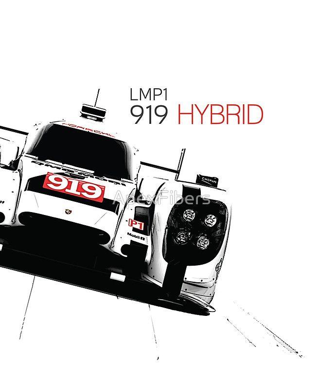 Porsche 919 Hybrid (Le Mans Prototype class LMP1)