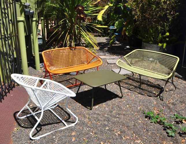 --Available in 3 colors: ~~-Green~~-Orange~~-White~~--NO discounts are available for Fermob Furniture~~--French Bistro furniture~~--chair~~--Made from recycled steel~~--For outdoor use~~--All weather