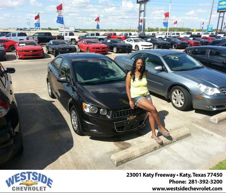 #HappyAnniversary to Latonya Odom on your 2013 #Chevrolet #Sonic from Ryan Crandall at Westside Chevrolet!