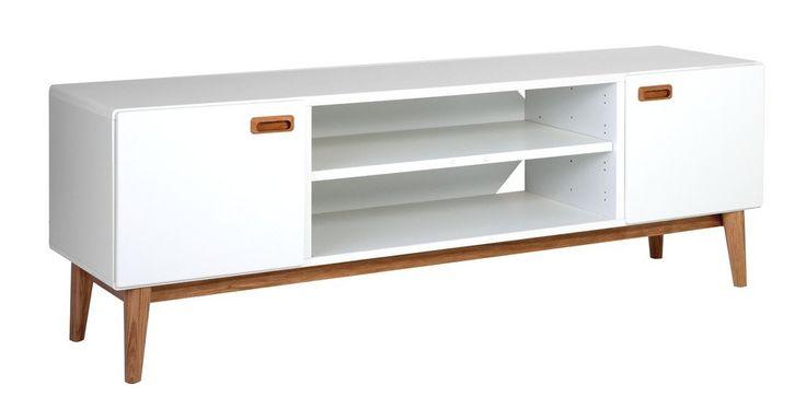 Eelis tv-tasossa korostuu 50-luvun henki jossa on massiivitammi jalat ja vetimet. Rungot valkoiseksi maalattua, ovet ja laatikot softclose mekanismeilla.