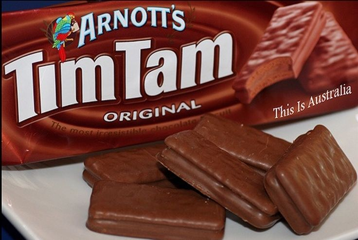 Australian Chocolate Tim Tams, my favourite biscuit (aka cookie)