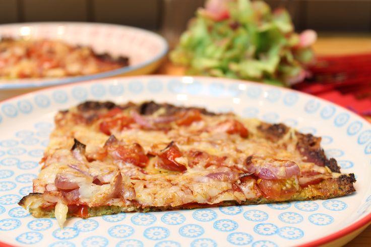 Low Carb Rezepte von Happy Carb: Zucchinipizza Olé.
