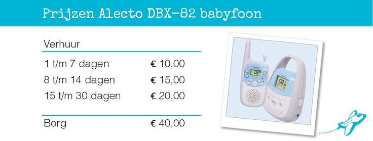 Babyfoon Alecto DBX-82 [verhuur]