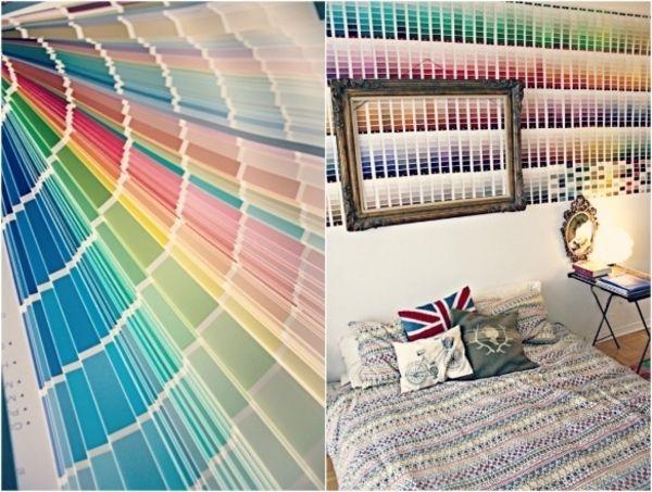 Blog » Paint Sample Wall Art