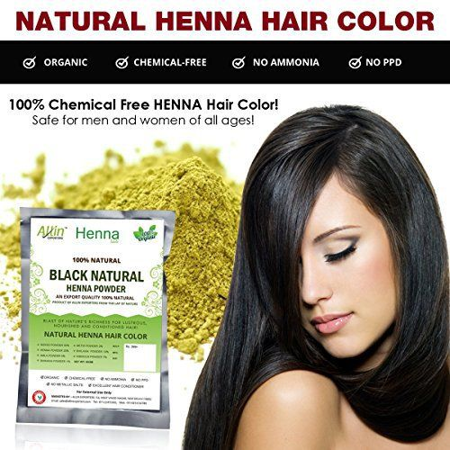 Allin Exporters Black Henna Hair Color - 100% Organic and Chemical Free Henna for Hair Color Hair Care - ( 60 Gram = 1 Packet) - http://essential-organic.com/allin-exporters-black-henna-hair-color-100-organic-and-chemical-free-henna-for-hair-color-hair-care-60-gram-1-packet/