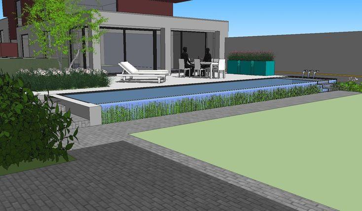 Tuinen in ontwerp tuinarchitect creatief in groen for Tuinarchitect modern