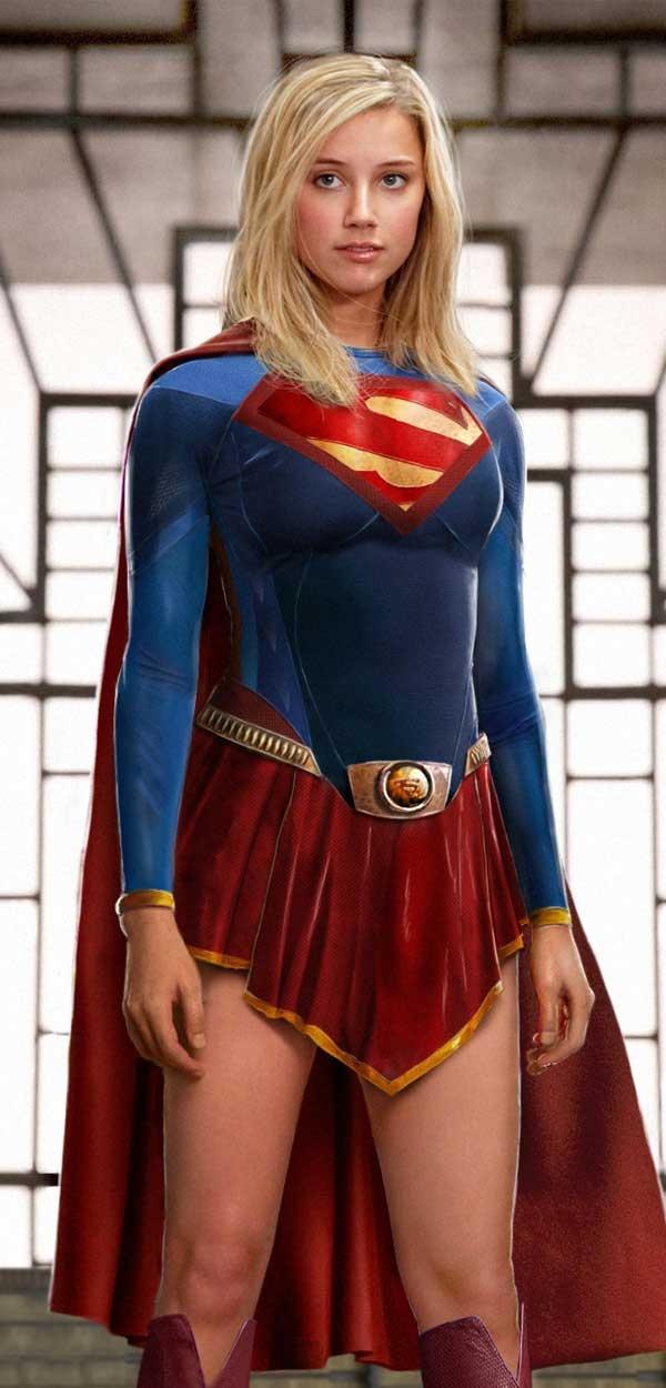 эро фото супервумен
