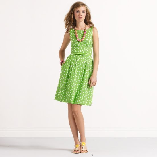 Kate Spade SONJA DRESS: Designer Dresses, Fashion, Style, Clothing, Green, Kate Spade, Katespade