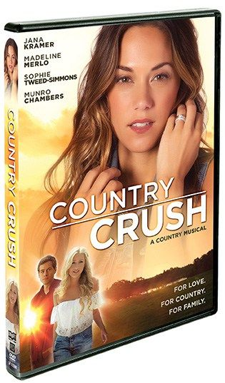 "Country Crush Review- With rousing duets and a racy country/pop fusion ( sung by Sophie, Gene Simmon's daughter ) I was dancing right along on the couch, couldn't help myself. You may recognize Munro Chambers from Degrassi: The Next Generation. You may also recognize Jana Kramer from last season's Dancing With The Stars and from her chart topping album 31. It would make an awesome ""Girls Night"" movie throw in some adult beverages and pizza and you're golden."