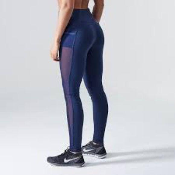 Gymshark Sculpture Leggings (Navy Blue) XS, price is firm! Gymshark Pants Leggings