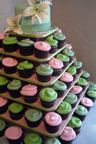 """""""The Original"""" Square Cupcake Tree (holds up to 100 cupcakes) $29 15"""" tall x 20"""" wide -every mom needs this for those cupcake parties at school! :)"""