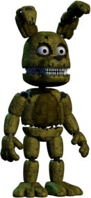 Full body photo of Plushtrap from Five Nights at Freddy's 4. #FNAF4