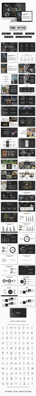 Food Vintage Presentation (PowerPoint Templates):