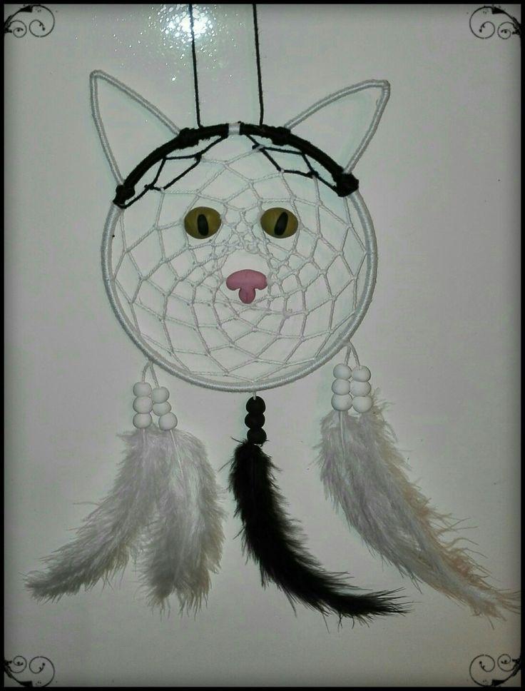Cat dreamcatcher