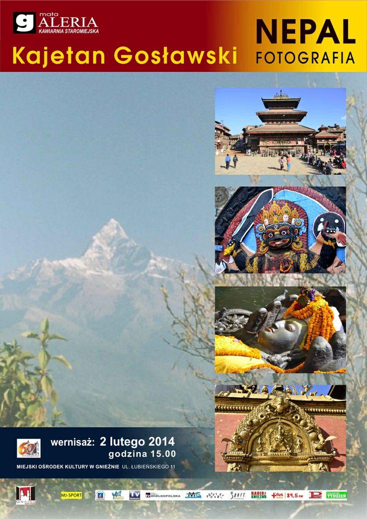 Exhibition of beautiful pictures from Nepal / Wystawa przepięknych zdjęć z Nepalu.