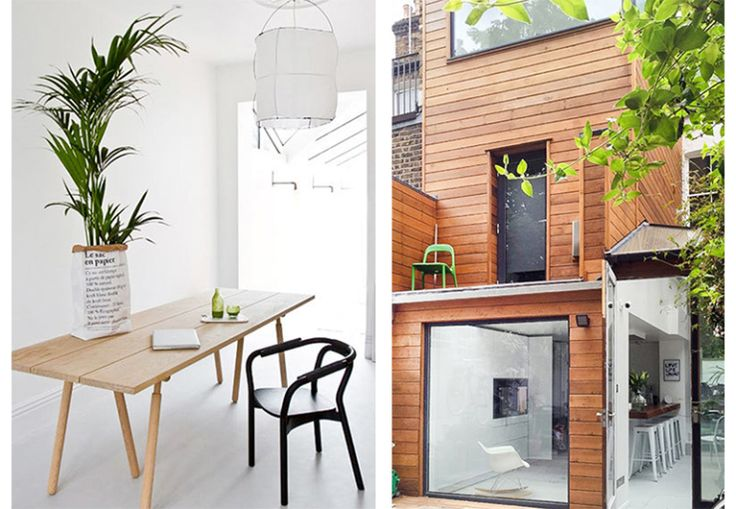 Spierwit vakantiehuis in Londen met houten accenten