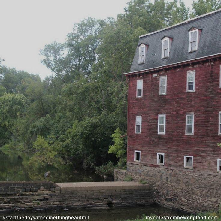 Old Mill-house Princeton, New Jersey #startthedaywithsomethingbeautiful