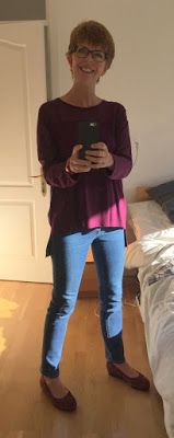It's been a while since I've posted my outfits of the day. I bought some coloured tights in M&S recently, which have given a new lease of l...