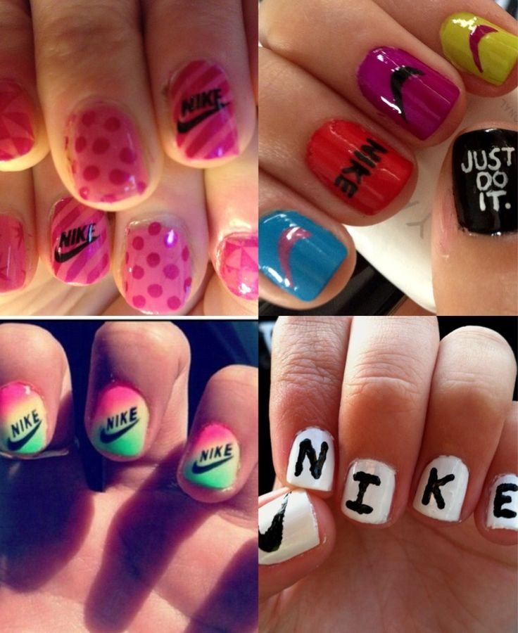 33 best Nike images on Pinterest | Nike nails, Nail arts and Nail design