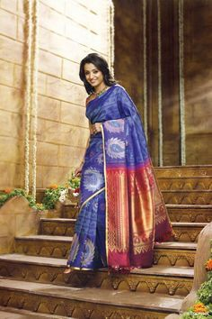 Trisha in Pothys Silk Saree Photoshoot (1)