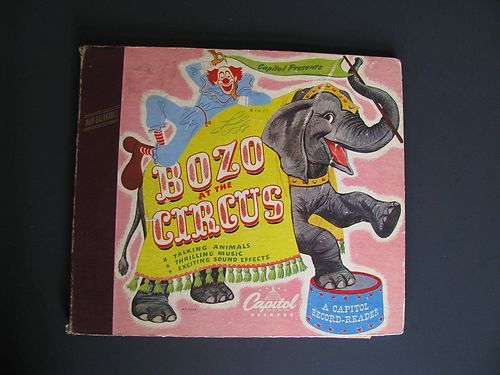 12 best disney books images on pinterest 1990s childrens books bozo at the circus vintage capitol records walt disney read along record album sold fandeluxe Choice Image